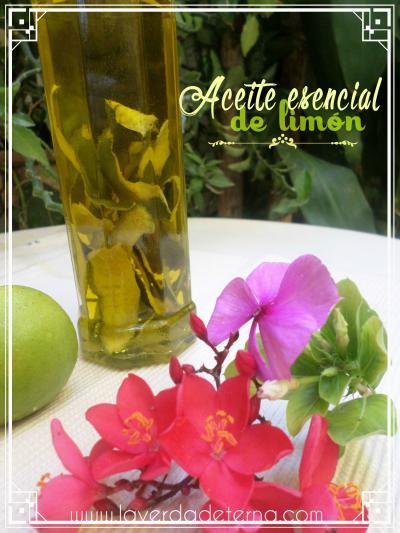 Aceite esencial de limón