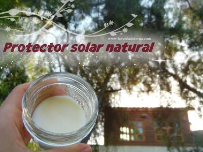 Protector solar natural