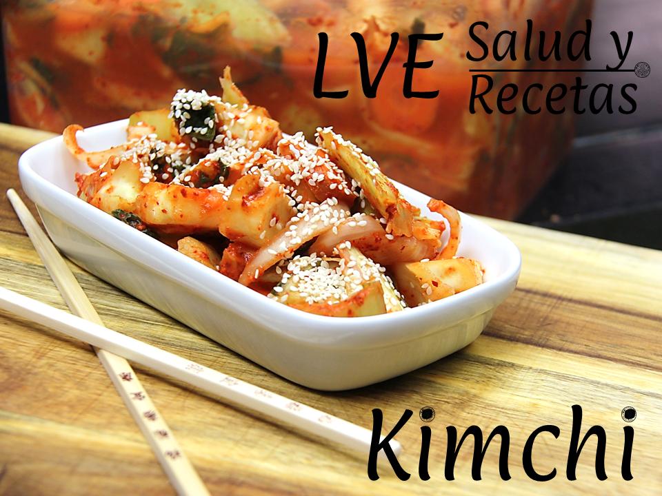Kimchi Lve Salud Y Recetas